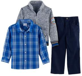 Nannette Toddler Boy 3-pc. Marled Sweater