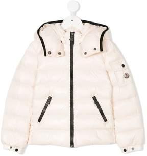 Moncler contrast zip padded jacket
