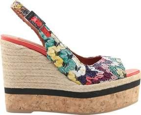 Missoni Footwear Slingback Wedge (Women's)