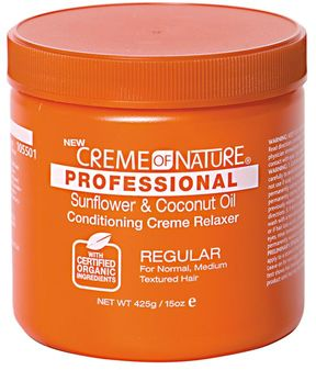 Creme of Nature Professional Sunflower & Coconut Oil Conditioning Regular Creme Relaxer