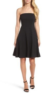 Felicity & Coco Women's Strapless Fit & Flare Dress