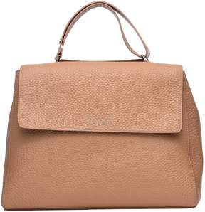 Orciani Brown Soft Leather Sveva Bag