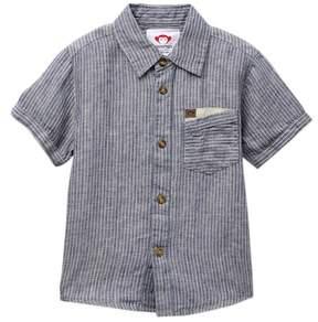 Appaman Mossman Striped Button Down Shirt (Toddler, Little & Big Boys)