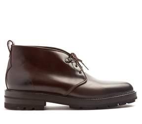 Fratelli Rossetti Dexter raised-sole leather desert boots