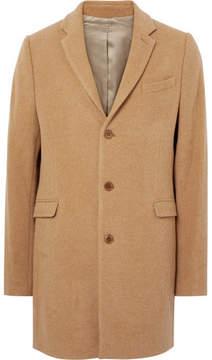 Folk Wool-Blend Overcoat