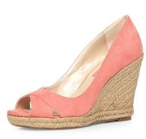 Dorothy Perkins Pink 'Callie' Peep Toe Wedges