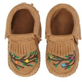 Minnetonka Infant X Free Range Mama We Are Family Bootie