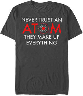 Fifth Sun Black 'Trust the Atom' Tee - Men