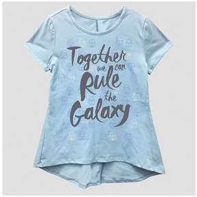 Star Wars Girls' T-Shirt - Blue