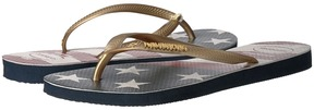Havaianas Slim Wavy USA Flag Sandal Women's Sandals