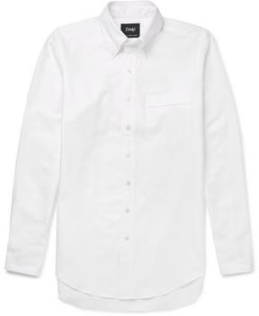 Drakes Drake's Button-Down Collar Cotton-Oxford Shirt