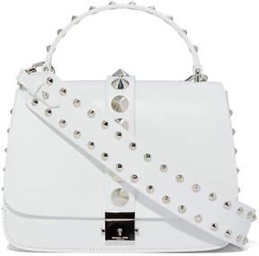 Michael Kors Shoulder Bag with Top Handle in Optic White