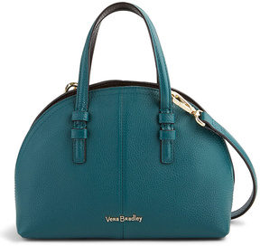 Vera Bradley Forest Green & Black Diana Leather Crossbody Bag - FOREST - STYLE