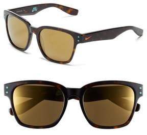 Nike Volano 55Mm Sunglasses - Tortoise/ Copper Flash