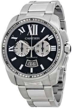 Cartier Calibre De Black Dial Men's Watch