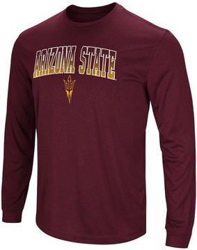 Colosseum Men's Campus Heritage Arizona State Sun Devils Gradient Long-Sleeve Tee
