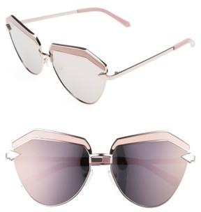 Karen Walker Women's Jacinto 61Mm Sunglasses - Rose Gold/ Pink