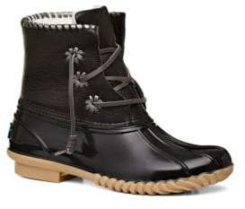 Jack Rogers Chloe Leather Mid-Calf Boots