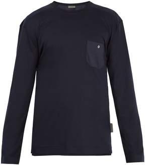 Zimmerli 8510 long-sleeved cotton-blend pyjama T-shirt
