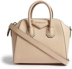Givenchy Ladies Brown Antigona Mini Leather Cross-Body Bag