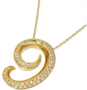 Franck Muller 18K Yellow Gold Talisman Diamond Necklace