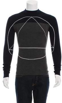 Christian Dior Two-Tone Wool Sweater