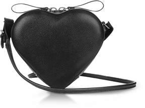 Vivienne Westwood Johanna Black Heart Crossbody Bag