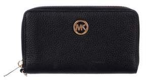 Michael Kors Pebbled Leather Wallet