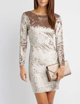 Charlotte Russe Velvet Bodycon Dress