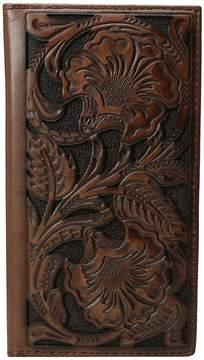 Ariat Rodeo Floral Embossed Wallet Wallet Handbags