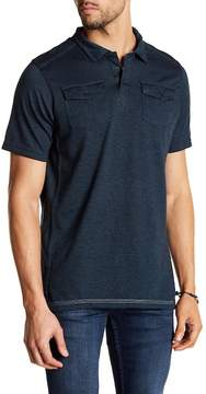 Burnside Short Sleeve Woven Polo