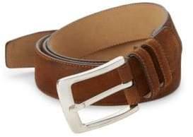 Mezlan Antelux Leather Belt