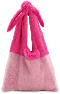 Simonetta Ravizza Furrissima Mink Fur Shoulder Bag