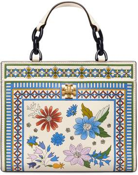 Tory Burch KIRA FLORAL SMALL TOTE