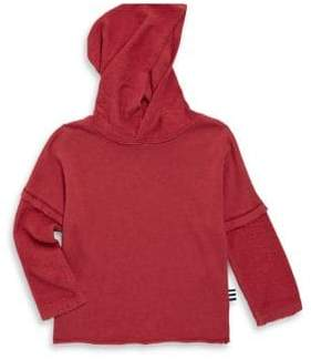 Splendid Toddler's Reverse Fabric Hoodie