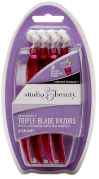 Studio 35 Beauty Disposable Triple-Blade Razors
