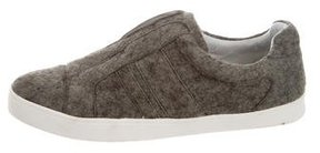 Derek Lam 10 Crosby Felt Slip-On Sneakers
