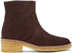 A.P.C. Armelle suede ankle boots