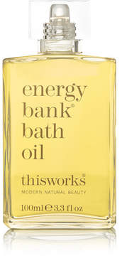 This Works Energy Bank Bath Oil, 100ml - Colorless