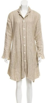 eskandar Linen Shift Dress