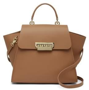 Zac Posen Eartha Iconic Core Top Handle Leather Crossbody Bag