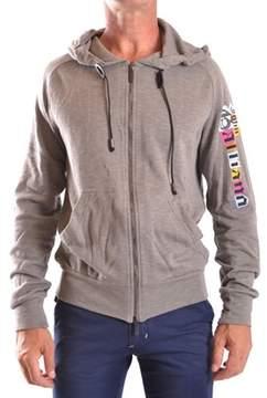 Galliano Men's Grey Cotton Sweatshirt.