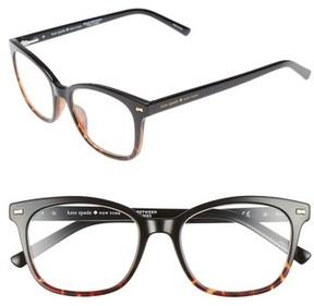 Kate Spade Women's Keadra 51Mm Reading Glasses - Black Havana