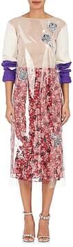 Calvin Klein Women's Appliquéd Vinyl Dress