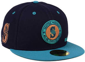 New Era Seattle Mariners X Wilson Circle Patch 59FIFTY Fitted Cap