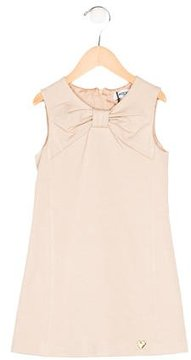 Moschino Girls' Sleeveless Knot-Accented Dress w/ Tags