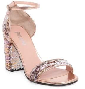 Pollini Sequined Sandals