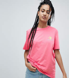 Converse Exclusive To ASOS T-Shirt In Pink