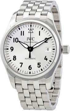 IWC Pilot Automatic Silver Dial Stainless Steel Men's Watch