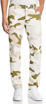 G Star 5620 3D Slim Fit Pants in Milk White Marble